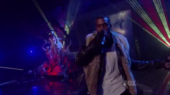 Kanye West & Katy Perry on American Idol